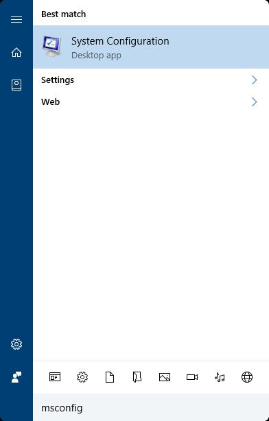 abrir modo seguro en Windows 10 pic1