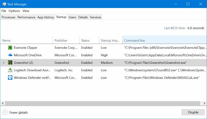 abrir la ubicación de los programas de inicio en windows 10 pic4