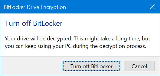 proteger con contraseña las unidades USB en Windows 10 pic12