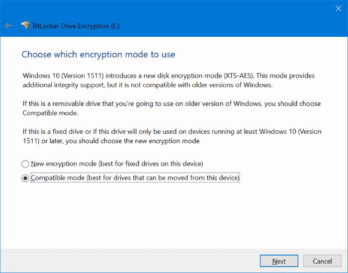 proteger con contraseña las unidades USB en Windows 10 pic5