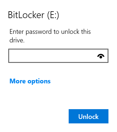 proteger con contraseña las unidades USB en Windows 10 pic9