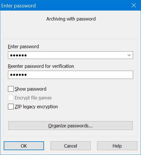 archivo de texto protegido por contraseña en Windows 10 pic10