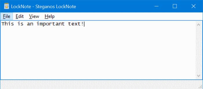 archivo de texto protegido por contraseña en Windows 10 pic2