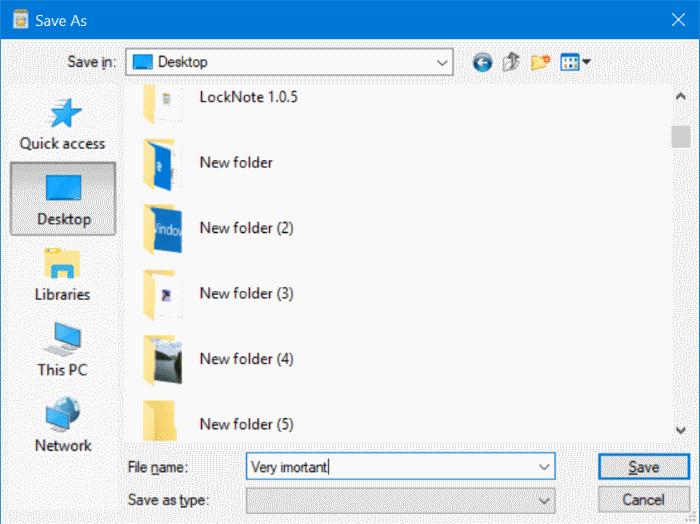 archivo de texto protegido por contraseña en Windows 10 pic4