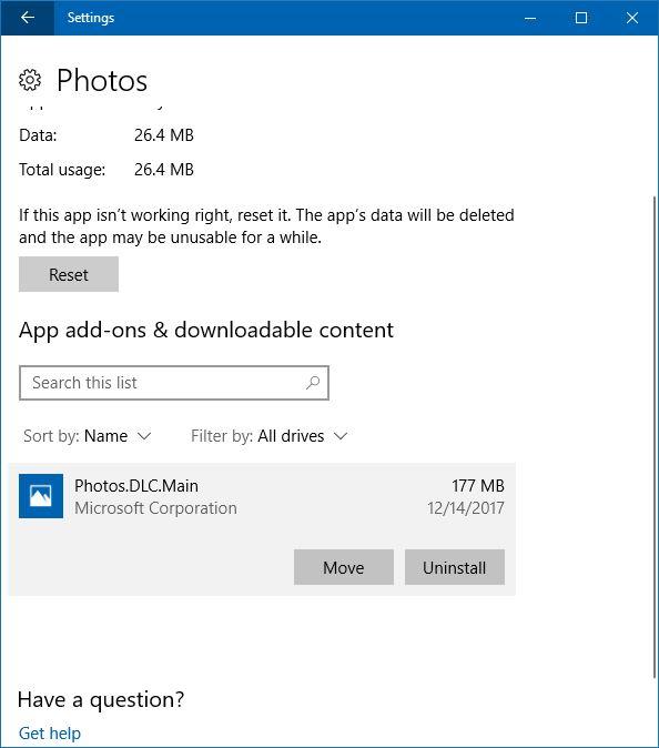 complemento de fotos para aplicaciones de fotos en Windows 10 pic2