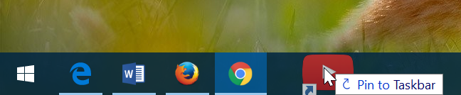 pin google, youtube y gmail to Windows 10 taskbar pic7