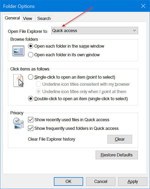 pin quick access to the taskbar in Windows 10 pic4