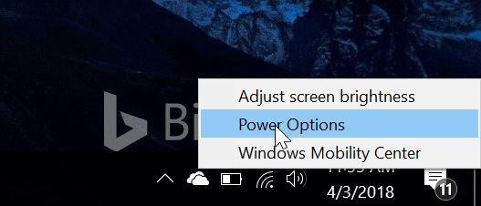 impedir que el portátil empiece a abrir la tapa en windows 10 pic1