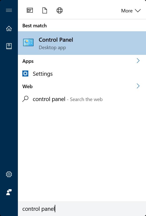 herramientas de sistema de acceso rápido en Windows 10 pic2