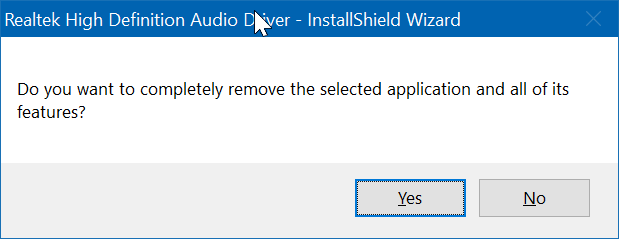 reinstall audio driver in Windows 10 pic8