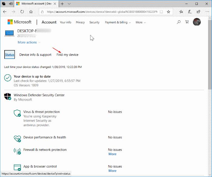 cerrar sesión y bloquear remotamente Windows 10 PC pic4