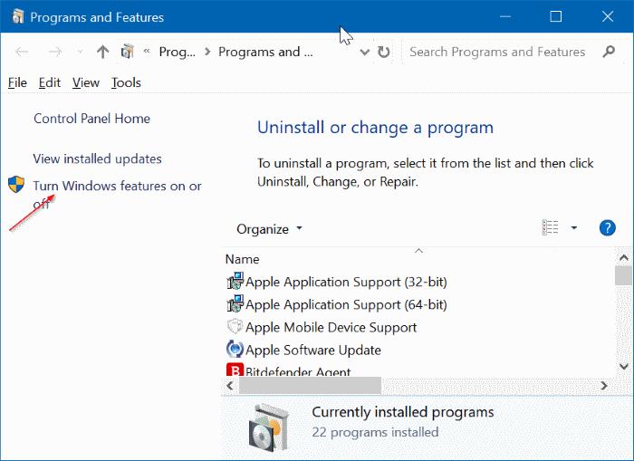 quitar Microsoft XPS Document Writer de Windows 10 pic5