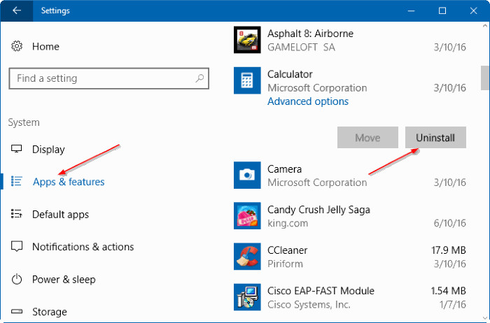 eliminar aplicaciones integradas en Windows 10 pic2
