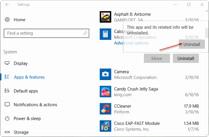 eliminar aplicaciones integradas en Windows 10 pic3