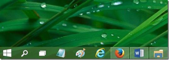 eliminar la vista de búsqueda y tarea de la barra de tareas de Windows 10