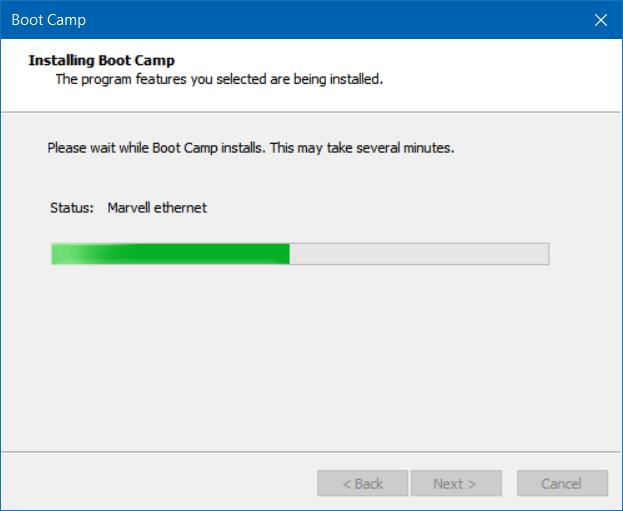 reparar y actualizar controladores boot camp en Windows 10 (3)