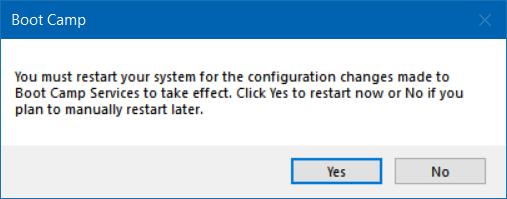 reparar y actualizar controladores boot camp en Windows 10 (5)