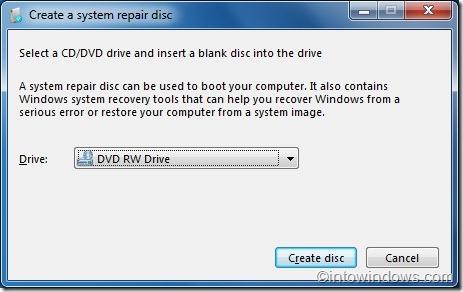 reparar windows 7 desde la unidad flash usb sin disco de instalación 1