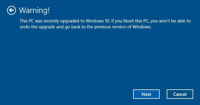 reset Windows 10 PC pic8.1