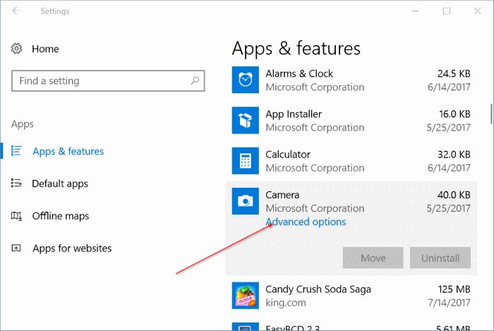 reiniciar y reinstalar la cámara en Windows 10 pic2