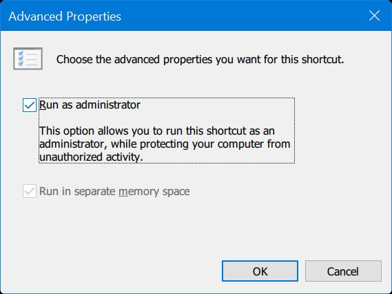 ejecutar un programa anclado en la barra de tareas como administrador de Windows 10 pic6