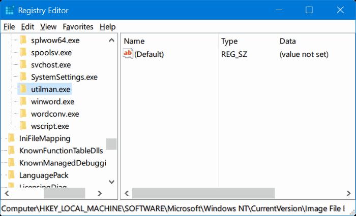 ejecutar cualquier programa desde la pantalla de inicio de sesión de Windows 10 pic2.1