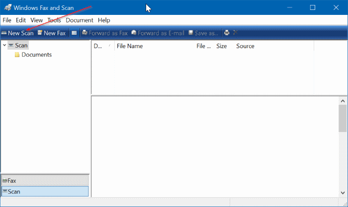 guardar documentos escaneados e imágenes como PDF en Windows 10 pic01