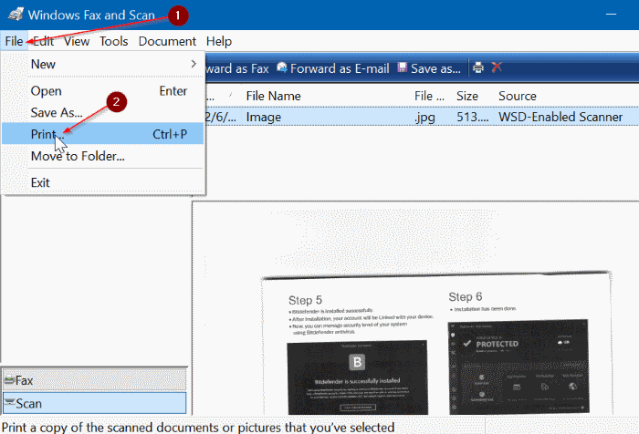 guardar documentos escaneados e imágenes como PDF en Windows 10 pic03