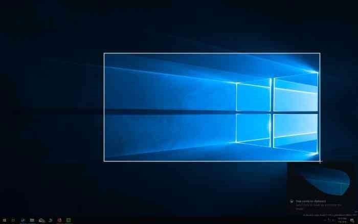 consejos y trucos de esbozo de pantalla en windows 10