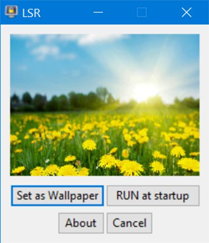 set lock screen picture as desktop background in Windows 10
