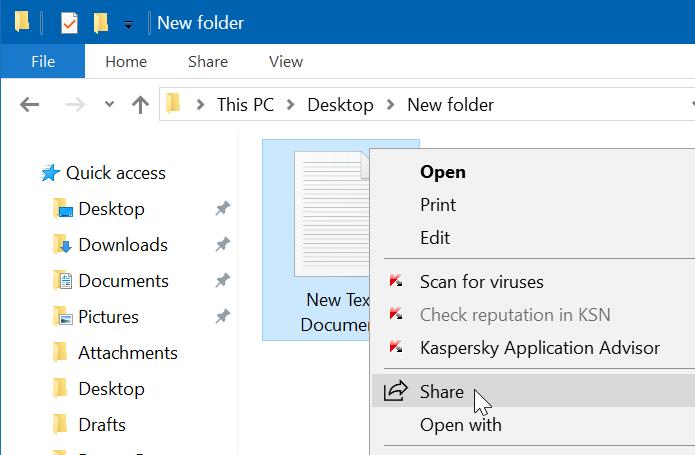 compartir archivos entre equipos con Windows 10 pic2