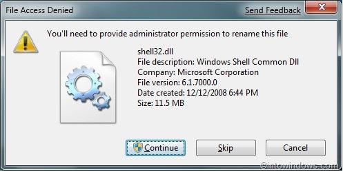 Reemplazar archivos DLL protegidos en Windows 7 y Vista pic4