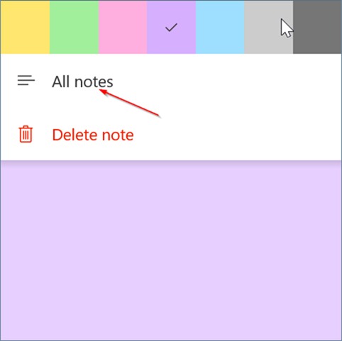 sign in or out of sticky notes in windows 10 pic6.3