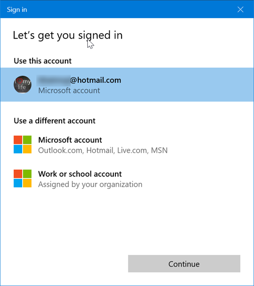 sign in or out of sticky notes in windows 10 pic7.1
