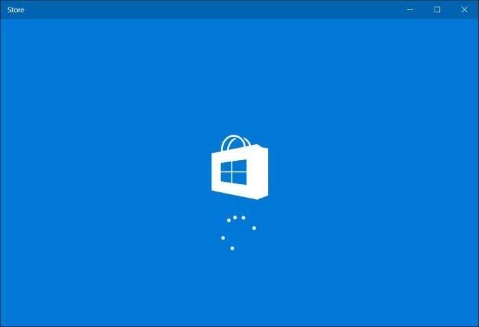 cerrar sesión en la aplicación Windows Store en Windows 10