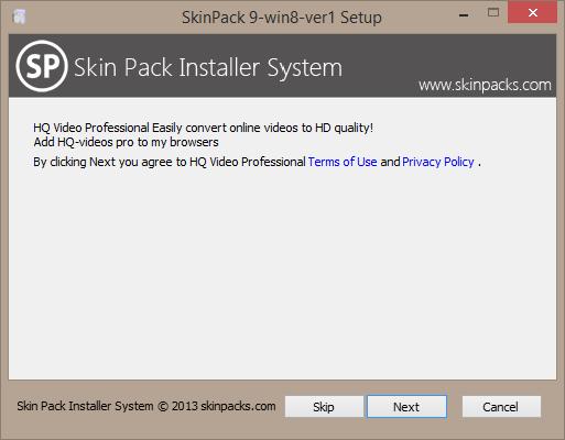 skin pack installer
