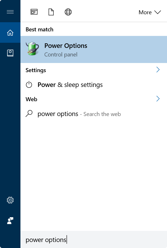 stop Windows 10 from asking for password after sleep step3