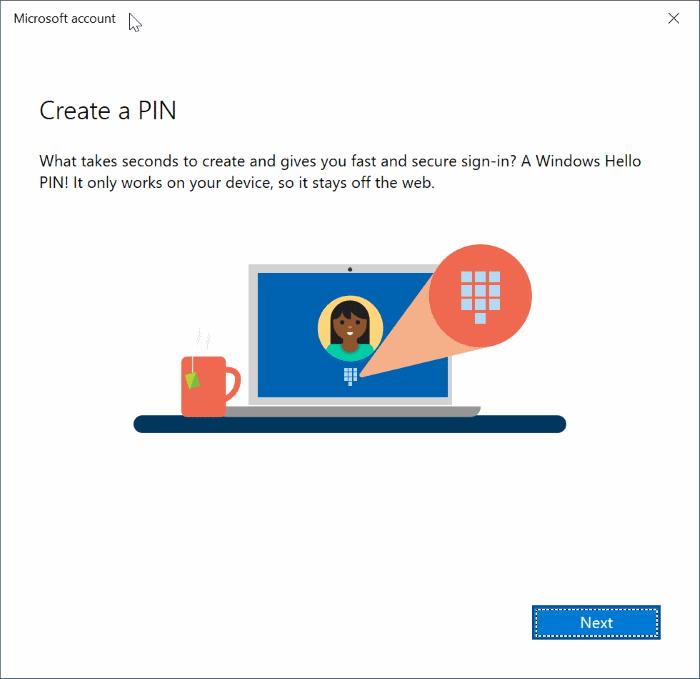 cambiar entre cuentas locales y de Microsoft en Windows 10 pic11