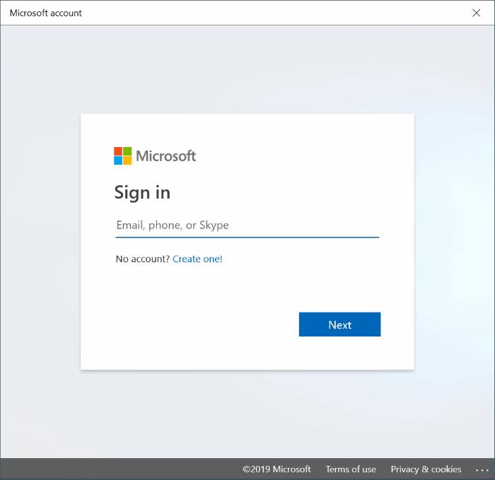 cambiar entre cuentas locales y de Microsoft en Windows 10 pic6
