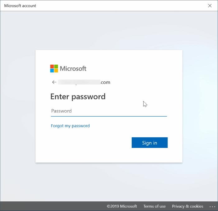 cambiar entre cuentas locales y de Microsoft en Windows 10 pic7