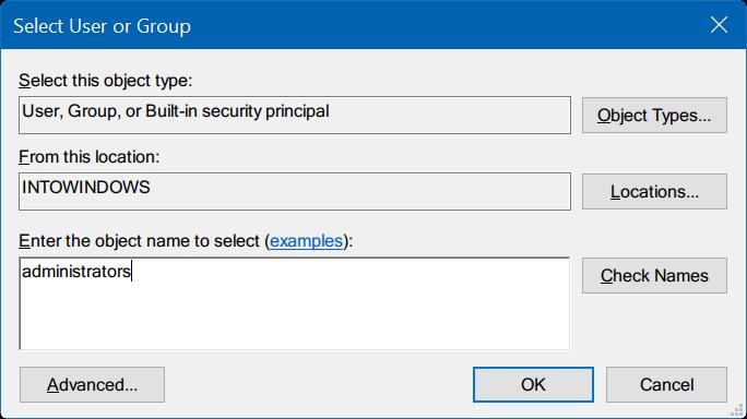 tomar propiedad del Registro en Windows 10 pic5