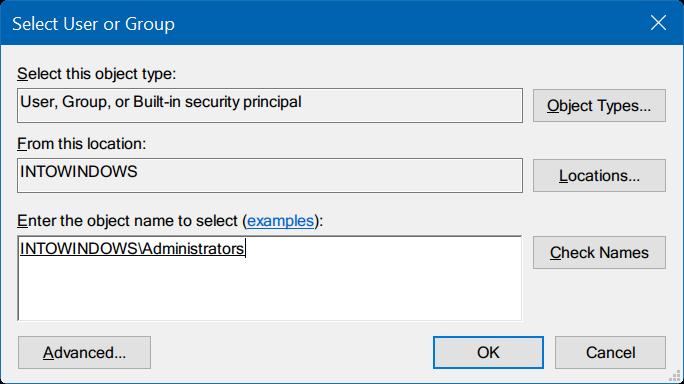 tomar propiedad del Registro en Windows 10 pic6