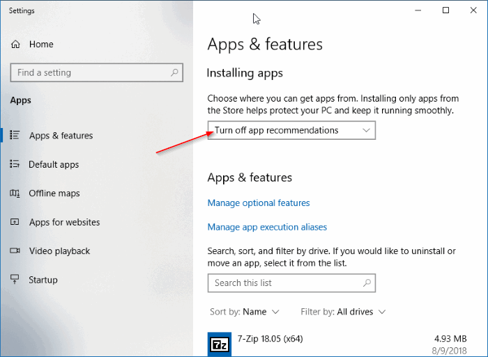 la aplicación que está intentando instalar no es una aplicación verificada de STore pic1