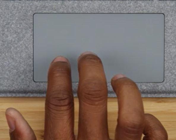 los gestos del panel táctil no funcionan en Windows 10