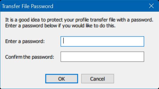 transferir perfiles de usuario en Windows 10 step4