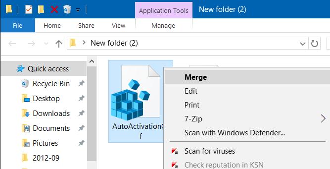 desactivar la activación automática en Windows 10 step4