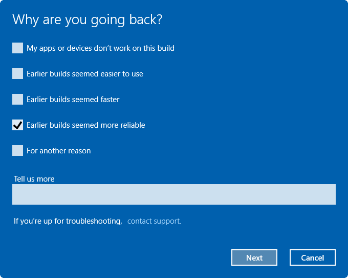desinstalar Windows 10 Anniversary Update pic2