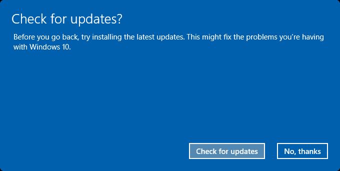 uninstall Windows 10 Anniversary Update pic3