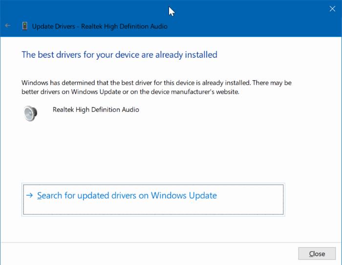 actualizar controladores de dispositivo en Windows 10 pic2