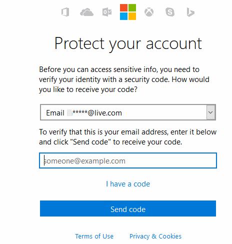 actualizar contraseña de correo electrónico en Windows 10 mail app step6